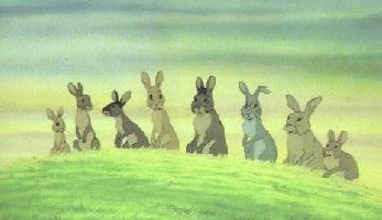 an analysis of a touching story of rabbits in watership down by richard adams Adams' rabbits tell a story of loyalty and perseverence  watership down,  richard adams' first novel, made its way into my life in the.
